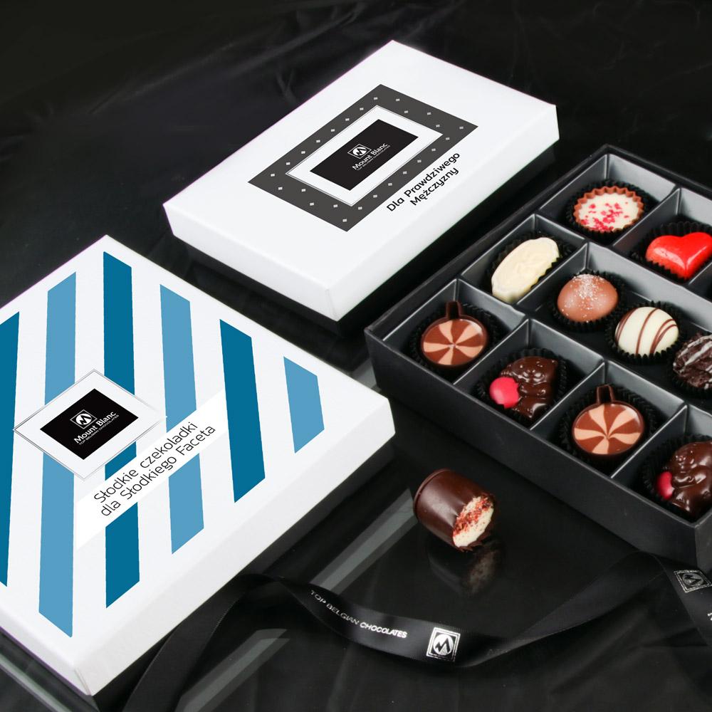 czekoladki dla mężczyzny