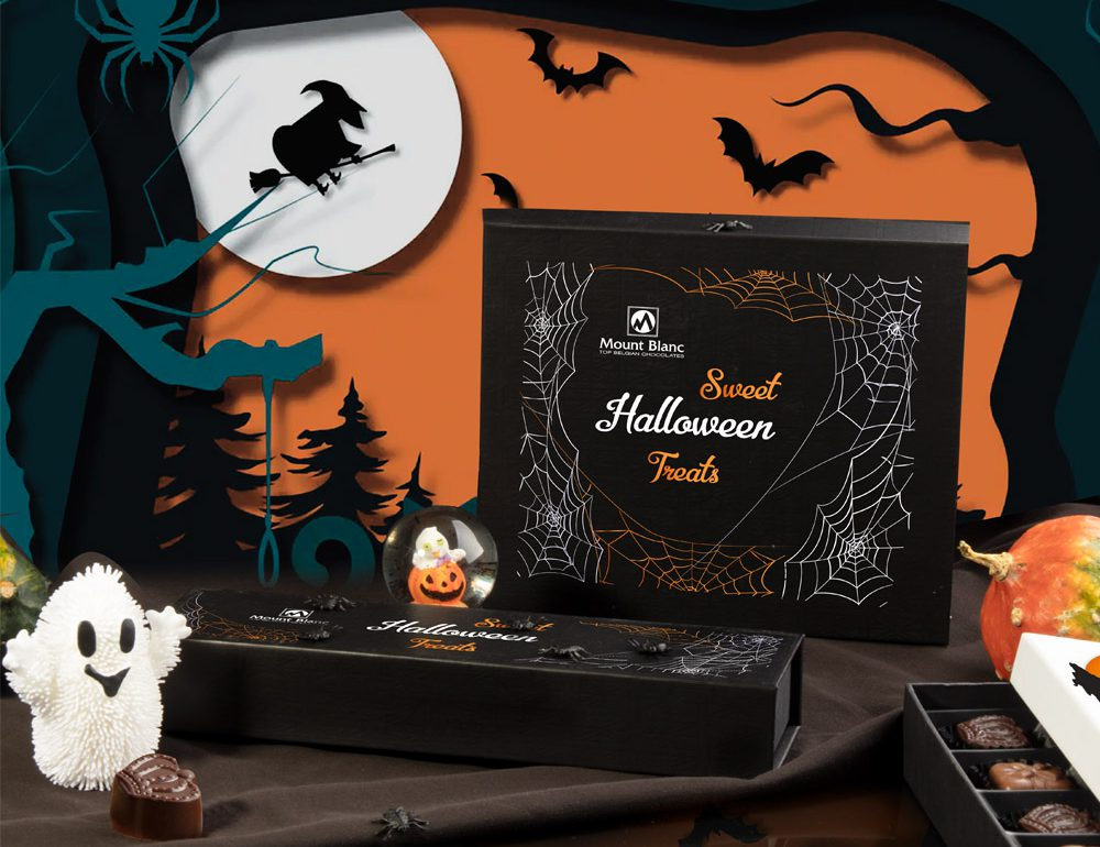 czekoladki na halloween Mountblanc